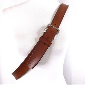 Fossil Men's Brown Genuine Leather Belt Size 42